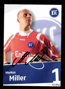 A 191118 Unterscheidungskraft FüR Seine Traditionellen Eigenschaften Markus Miller Autogrammkarte Karlsruher Sc 2008-09 Original Signiert Sammeln & Seltenes