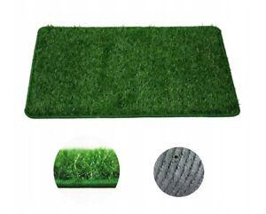 Eingansmatte-Fussabstreifer-Kunstrasen-Gras-Matte-Gruen-verschied-Groesse-amp-Mustern