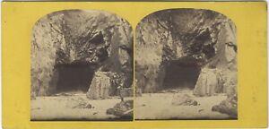 Plemont Jersey UK Foto Stereo Vintage Albumina c1865