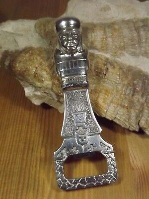 Fein D18-107 / Massiver Flaschenöffner Silber 900 Sammlerstück In 3d Sehr Schwer
