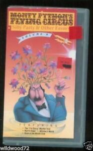 Monty Python's Flying Circus Vol 9: Silly Party (VHS) | eBay