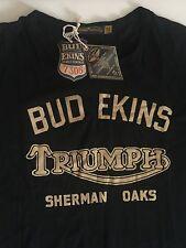 JOHNSON MOTORS NWT Men,s Tee Bud Ekins Made In USA Size 3XL
