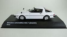 Kyosho 1/43  Mazda Savanna RX-7 (SA22C) - WHITE - KYO3281W