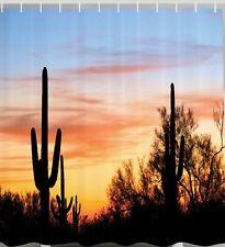 Superbe Item 1 Sunset Desert Fabric SHOWER CURTAIN Cactus Southwestern Landscape  Bathroom Decor  Sunset Desert Fabric SHOWER CURTAIN Cactus Southwestern  Landscape ...