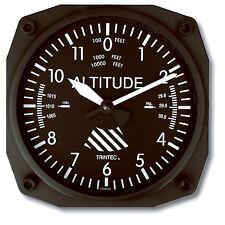 """Trintec Classic Altimeter - 6"""" Aviation Wall Clock - Aircraft Instrument - 9060"""