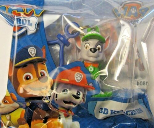 PAW PATROL 3D KEYCLIP **NEW** CHOOSE CHARACTER