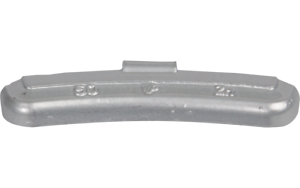 50g Pesos de equilibrio Premium Pesos de impacto de zinc para llantas de acero 25 piezas