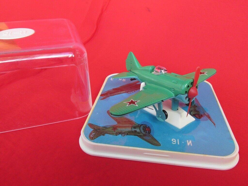 Original Hecha Hecha Hecha En Urss modelo avión de combate Segunda Guerra Mundial IL-2 1980s Con Caja Excelente    1de047