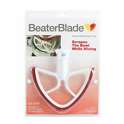 4.5 and 5 Quart Red Blades by BeaterBlade New Metro Design Beater Blade for KitchenAid Tilt-Head Models
