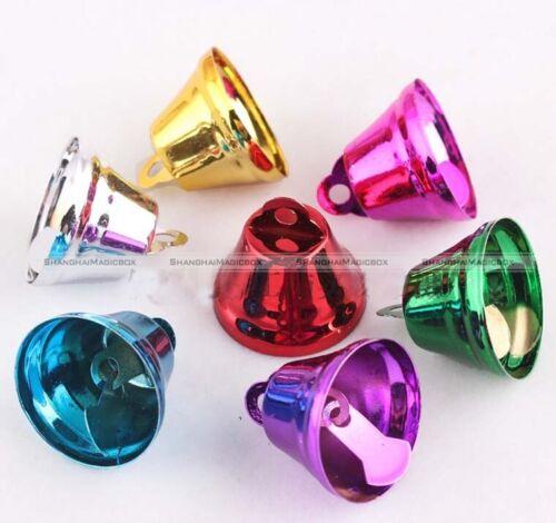 5 Pcs Colorful Bird Bells Toys Parrot Pet Joy Golden Parts Toy