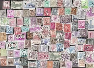 100-All-Different-BELGIUM-Stamps