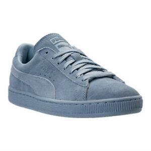 d9a23b0fcb1 Puma Suede Classic Men s Casual Shoes Tonal Blue Fog 362595 03