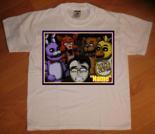 NEW Five Nights at Freddy/'s Let/'s Eat Personalized T-Shirt