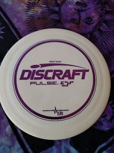 Discraft-First-Run-ESP-Pulse-171-gram-white-Golf-Disc