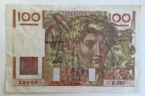 Billet-De-Banque-100-Francs-Paysan-Du-7-4-1949-V-320-Voir-Photos