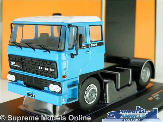 DAF 2800 MODEL LORRY TRUCK CAB UNIT 1 43 SCALE IXO Blau 1975 TR030 WAGON K8