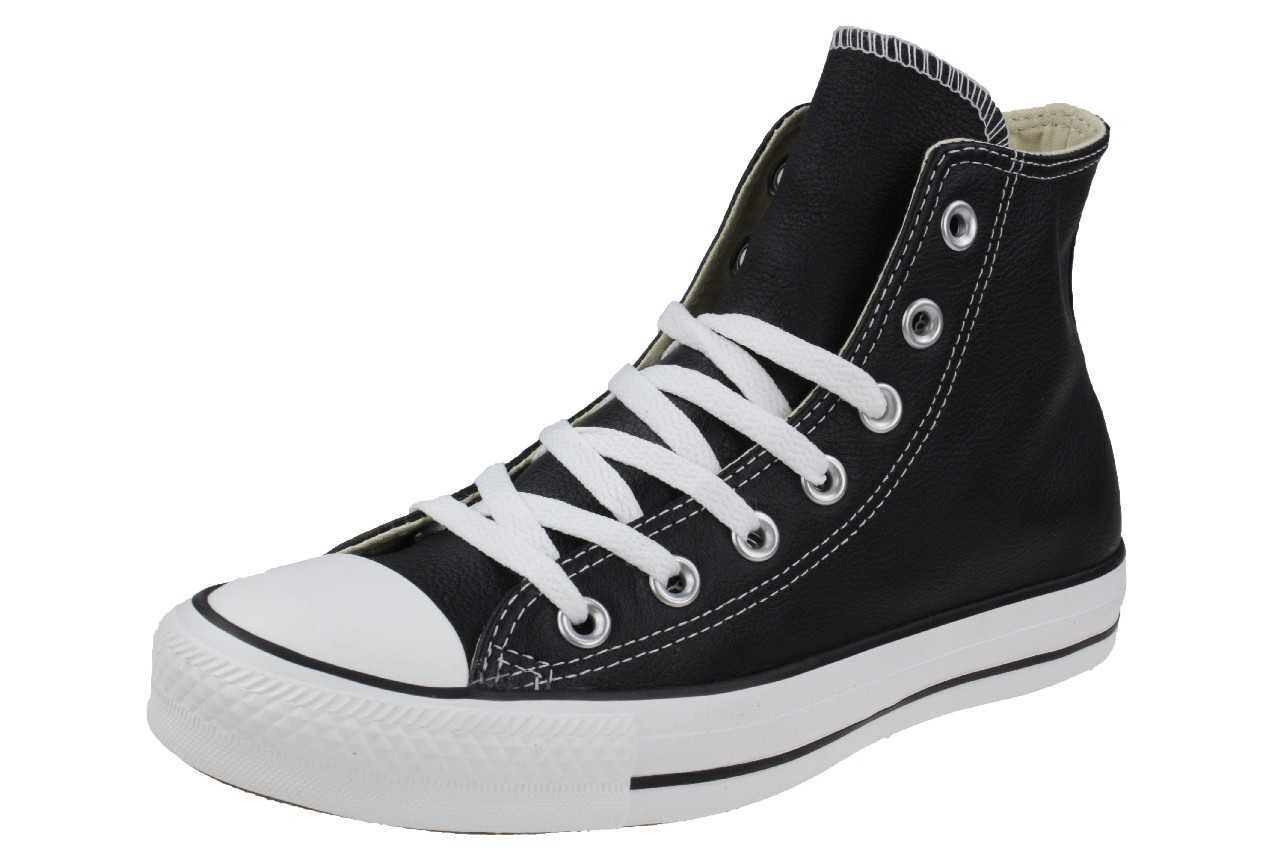 Converse CT All Star Chucks Mandrin Hi Chaussures paniers Cuir Noir