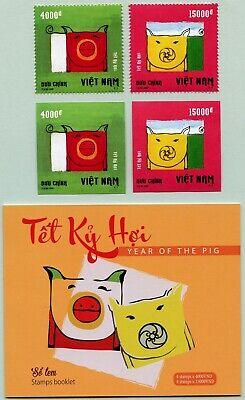 Vietnam 2018 Jahr Des Schweines Neujahr 3782-3783 A & B Plus Markenheft Mnh Rabatte Verkauf Briefmarken