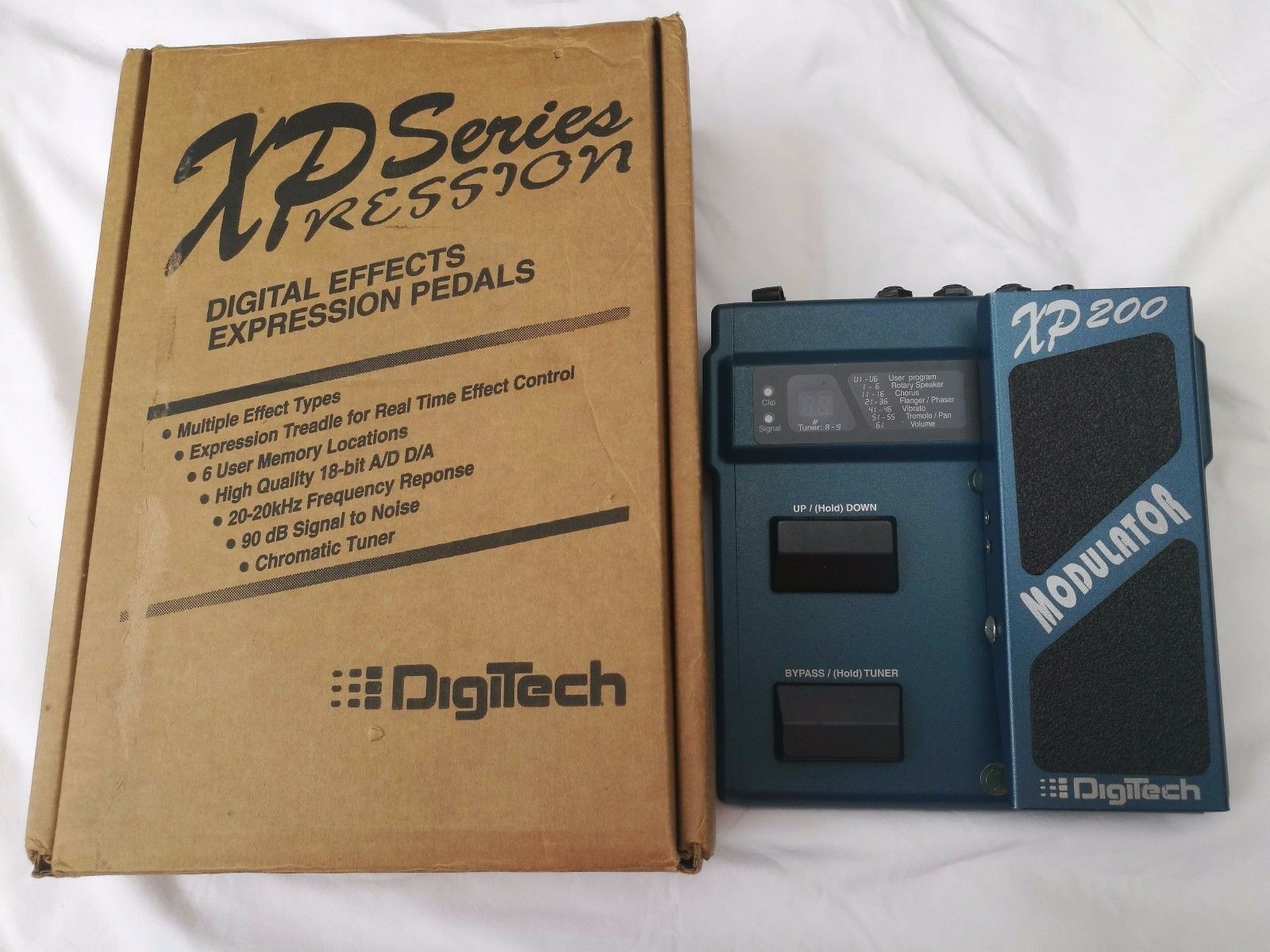 DIGITECH XP200 MODULATOR - FREE NEXT DAY DELIVERY IN THE UK