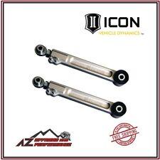 Icon Billet Aluminum Rear Upper Link Arms Kit For 03 21 Toyota 4runner 54100