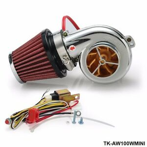 turbo kits mini electric turbo supercharger kit air filter. Black Bedroom Furniture Sets. Home Design Ideas