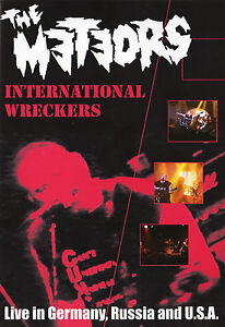 THE-METEORS-International-Wreckers-DVD-psychobilly-NEW