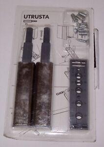 Details about IKEA UTRUSTA Cabinet Doors Drawer Latch Push To Open Set of  2/pkg 802 302 24