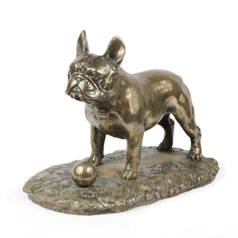 French Bulldog - dog bronze figurine, high quality, Art Dog