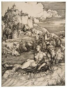 Albrecht Durer The Sea Monster paper or canvas reproduction