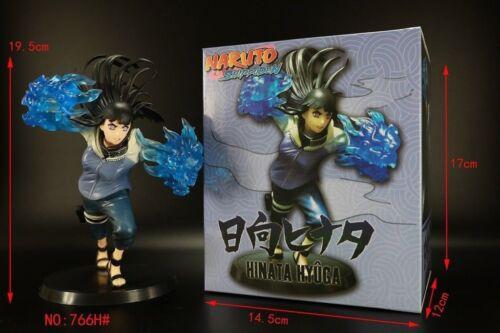 Anime toy 1//10 Naruto Hinata Hyuga Figure Doll Model PVC Box Toy 17cm Collecter