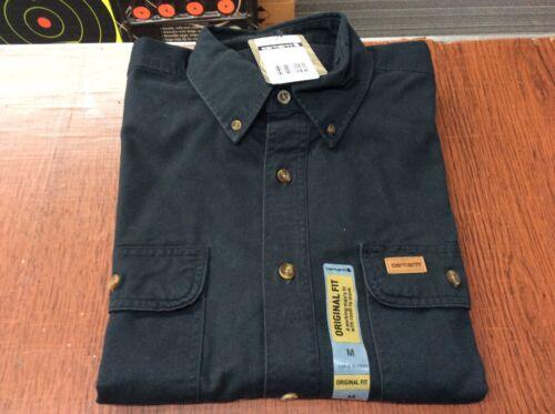 Carhartt pour hommes à manches longues original fit shirt /_ 7 Couleurs-Tailles Multiples GAUCHE-NEUF