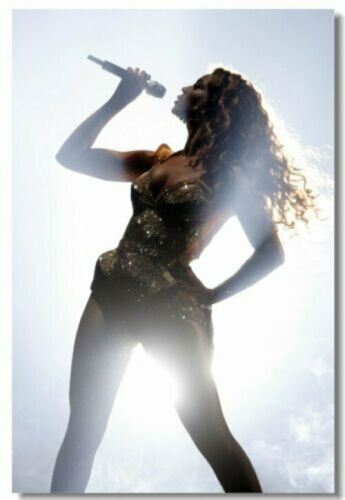 507 Beyonce Knowles Art Wall Cloth Poster Print