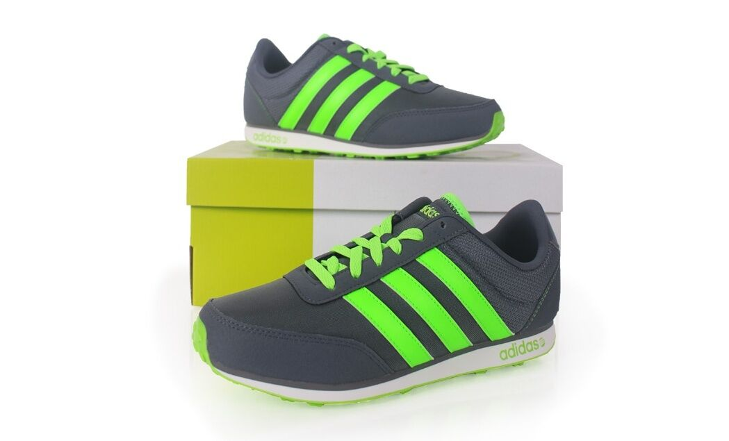 separation shoes f8dd3 7164e ... sale adidas neo v racer uomo running new shoes f97912 new running with box  gray 32b6c7