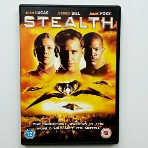 DVD-Stealth-2005-military-science-fiction-action-film-Single-Disc-Josh-Lucas