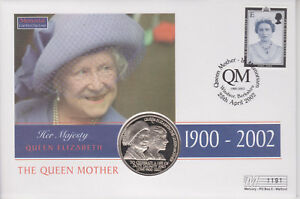 GB-PNC-COIN-COVER-2002-QUEEN-MOTHER-MEMORIAL-ST-HELENA-COIN-1191