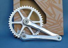 "Pedal 170mm 44 dientes BSC 9/16"" bici vintage fixie sola velocidad"