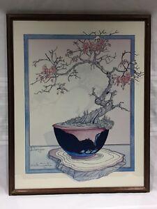 FRAMED-ART-PRINT-JAPANESE-CHERRY-BLOSSOM-TREE-JCG-ILLINGWORTH-23-034-x-29-5-034-FRAME