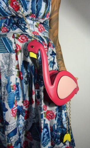 Pattes Sac Mobiles Pinup Original Rétro À Flamingo Flamant Rose Vintage Main wq4FxX
