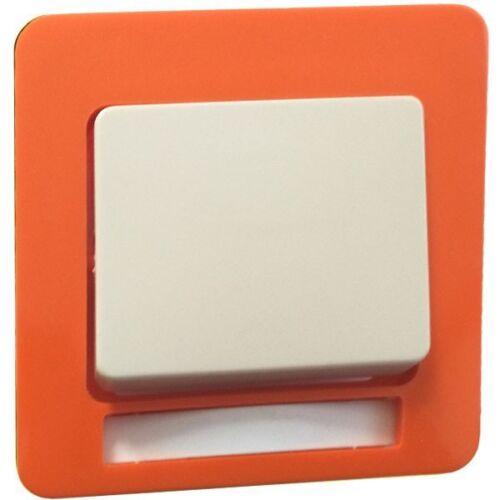 Peha Standard bascule avec plaque centrale avec Label D 81.640 NA Orange