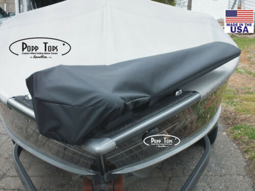 """BLACK MotorGuide Trolling Motor Cover  By PoppTops Fits Xi5  w//60/"""" Shaft"""