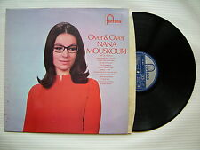 Nana Mouskouri - Over & Over, Fontana STL-5511 Ex+ Condition Vinyl LP
