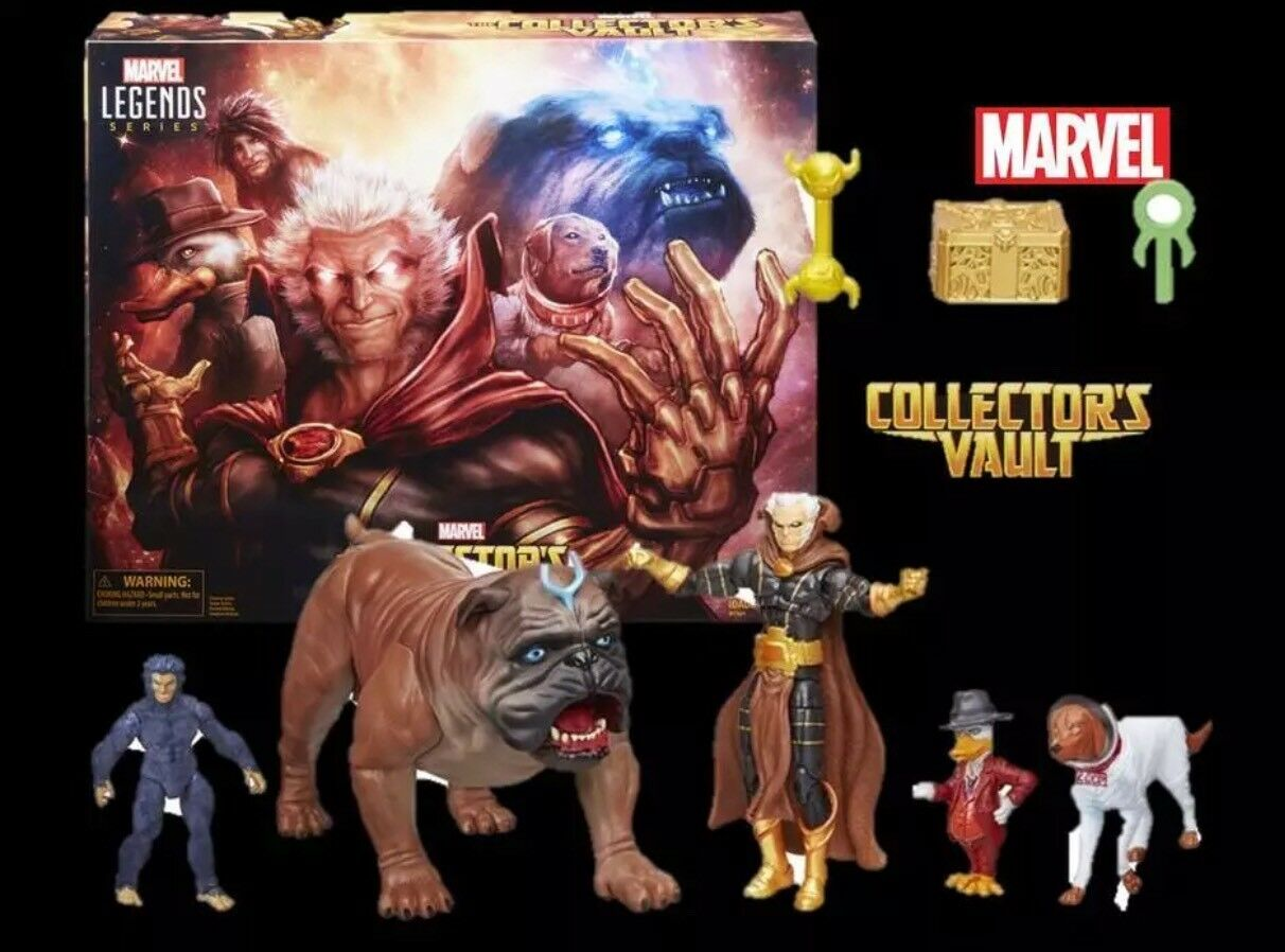 SDCC EXCLUSIVE MARVEL LEGENDS THE COLLECTOR'S VAULT Avengers Gift Gift Gift Boy 48665d