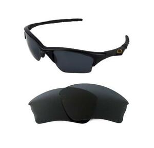 7733623307 Image is loading NEW-POLARIZED-REPLACEMENT-BLACK-XLJ-LENS-FOR-OAKLEY-