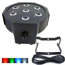 GENSSI 7x10W 4 in 1 RGB W LED Light DJ Stage Light Wedding Up lighting PAR64 CAN