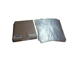 Clear Polythene Plastic Bags ALL SIZES Free POSTAGE 100Gauge