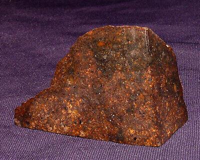 Offizielle Website Endstück Stein-meteorit Jah 055 Poliert, Heilstein, 46x31x18mm 27,0g, Oman 陨石 Die Nieren NäHren Und Rheuma Lindern