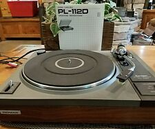 Vintage Pioneer Turntable PL-112D with orginal manual. Excellent working cond.