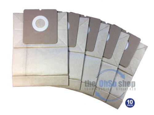 E67N e H55 di tipo super-Lite Z966 10 x sacchetti per aspirapolvere ELECTROLUX E67 Z967