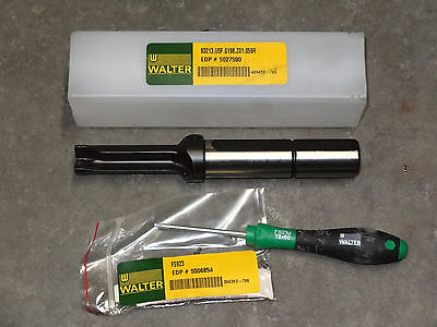 """2 new INGERSOLL YAB1500R01 IN2005 15mm .591/"""" Carbide Indexable Drill Insert F104"""