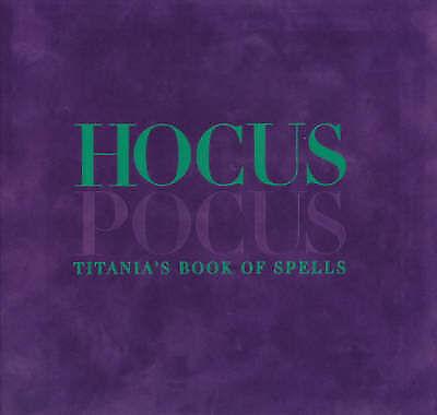 Hocus Pocus: Titania's Book of Spells, Hardie, Titania, Very Good Book